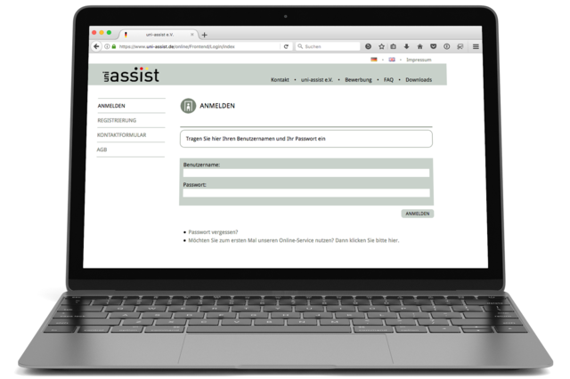 der uni assist online account bietet viele vorteile bewerbungen - Uni Bewerbung